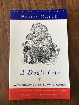 A Dogs Life Book by Peter Mayle with Drawings by Edward Koren C1995 #vL5UyrfEgiw