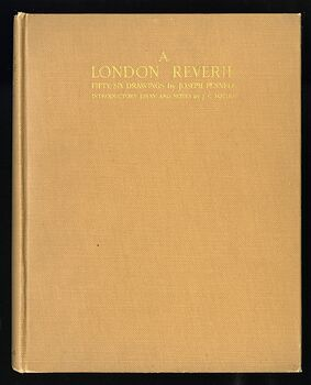 A London Reverie Antique Illustrated Book by Joseph Pennell C1928 #oEZ1u4EXky4