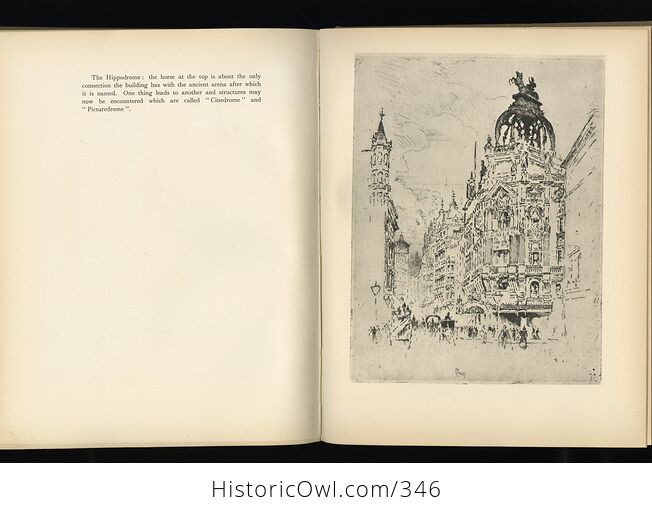 A London Reverie Antique Illustrated Book by Joseph Pennell C1928 - #oEZ1u4EXky4-4