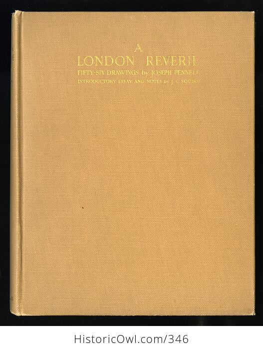 A London Reverie Antique Illustrated Book by Joseph Pennell C1928 - #oEZ1u4EXky4-1