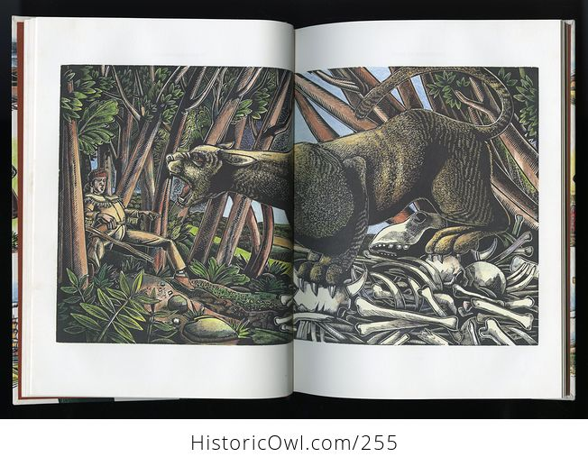 American Tall Tales Book by Mary Pope Osborne with Wood Engravings by Michael Mccurdy Schoolastic C1991 - #deK04wgSfco-5