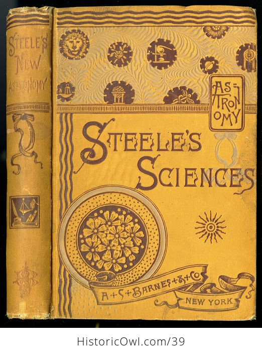 Antique Book the Story of the Stars New Descriptive Astronomy or Steeles New Astronomy C 1884 - #qYtfxGOSzoo-1
