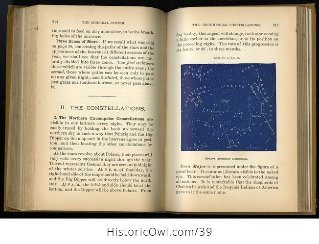Antique Book the Story of the Stars New Descriptive Astronomy or Steeles New Astronomy C 1884 - #qYtfxGOSzoo-2