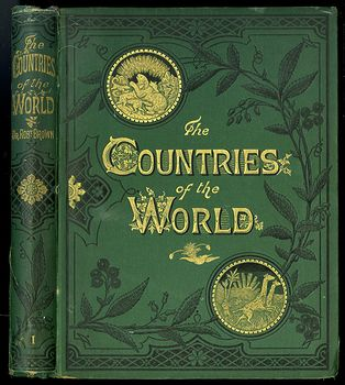 Antique Illustrated Book 3 Volumes the Countries of the World by Robert Brown #M0oOg9mzP0A