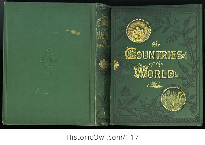 Antique Illustrated Book 3 Volumes the Countries of the World by Robert Brown - #M0oOg9mzP0A-5