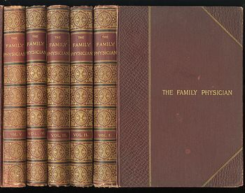Antique Illustrated Book 3 Volumes the Family Physician a Manual of Domestic Medicine New and Enlarged Edition #lbVYTa8vTds