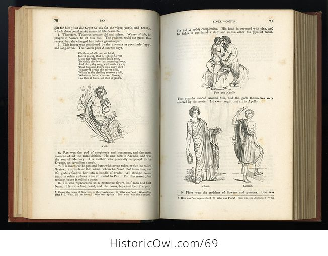 Antique Illustrated Book a Pictorial History of Greece Ancient and Modern by S G Goodrich C1881 - #QZVYxi4XIvU-10