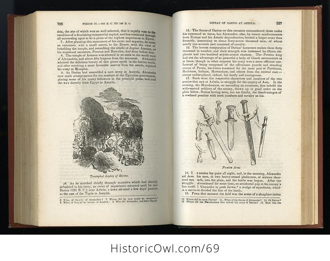 Antique Illustrated Book a Pictorial History of Greece Ancient and Modern by S G Goodrich C1881 - #QZVYxi4XIvU-12