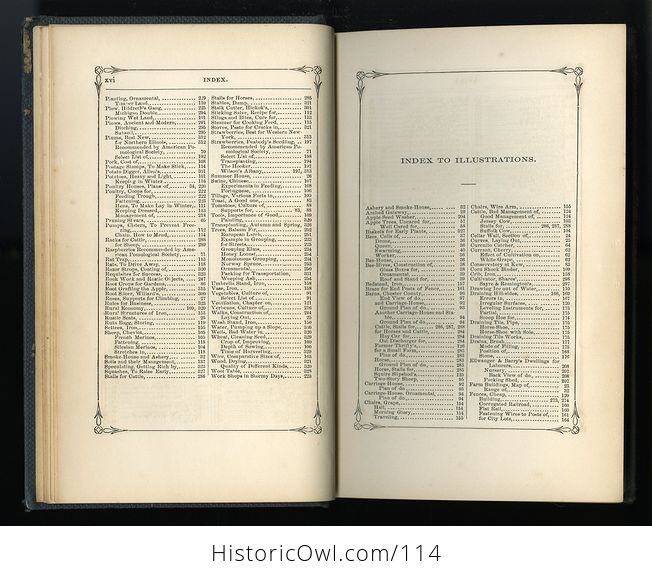 Antique Illustrated Book Annual Register of Rural Affairs for 1858 9 60 Vol Ii C1860 - #OjetYY0kTfQ-7