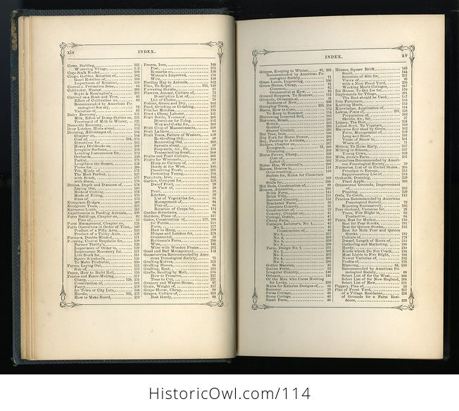 Antique Illustrated Book Annual Register of Rural Affairs for 1858 9 60 Vol Ii C1860 - #OjetYY0kTfQ-6