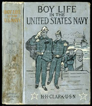 Antique Illustrated Book Boy Life in the United States Navy by H H Clark C1885 #sFeB0yktOng