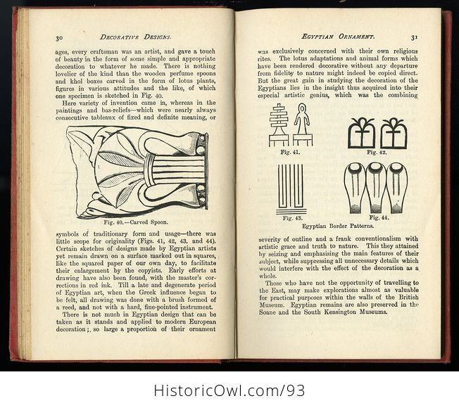 Antique Illustrated Book Decorative Designs of All Ages for All Purposes Edited by Paul N Hasluck C1913 - #Nhzc2ZZXx4Y-3