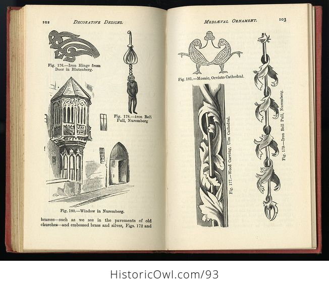 Antique Illustrated Book Decorative Designs of All Ages for All Purposes Edited by Paul N Hasluck C1913 - #Nhzc2ZZXx4Y-6