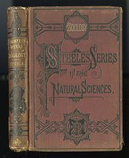 Antique Illustrated Book Fourteen Weeks in Zoology by J Dorman Steele C1872 #B3KfniYdk0E