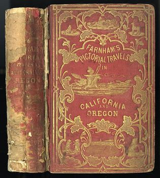 Antique Illustrated Book Life Adventures and Travels in California by T J Farnham C 1851 #ISEo05mWIzM