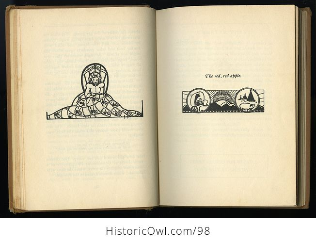Antique Illustrated Book Lucretia Ann on the Oregon Trail by Ruth Gibson Plowhead C 1931 - #KYsxD3sPUVE-6