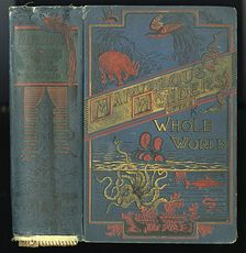 Antique Illustrated Book Marvelous Wonders of the Whole World C1886 #wJlNpWQywwk