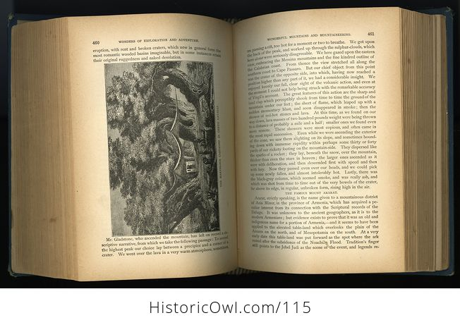 Antique Illustrated Book Marvelous Wonders of the Whole World C1886 - #wJlNpWQywwk-11