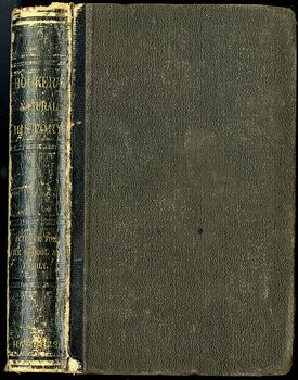 Antique Illustrated Book Natural History for the Use of Schools and Families by Worthington Hooker C1872 #5KGAGUVt9Qk