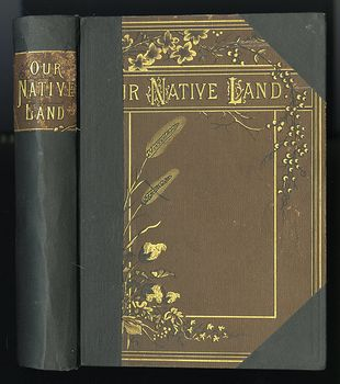 Antique Illustrated Book Our Native Land or Glances at American Scenery and Places with Sketches of Life and Adventure 1882 #ccxJT3sWTNs