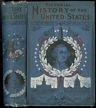 Antique Illustrated Book Pictorial History of the United States from the Discovery of the American Continent to the Present Time by James D Mccabe 1893 #LhqyV2Segj8