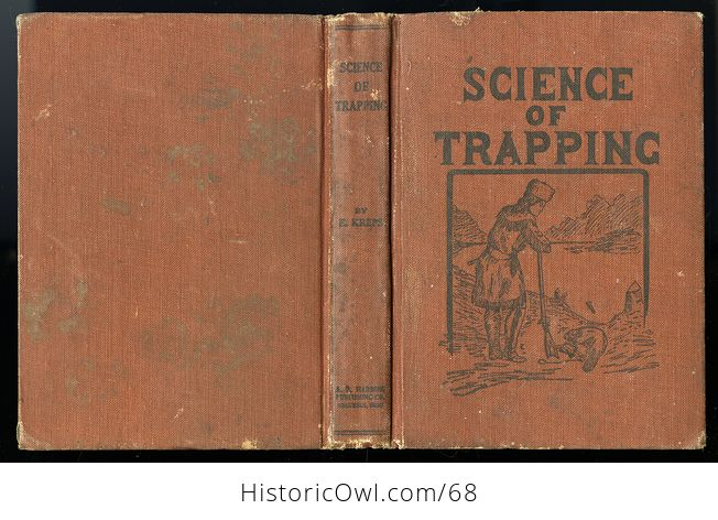 Antique Illustrated Book Science of Trapping by E Kreps C1909 - #JGwoTf6Pl2w-4
