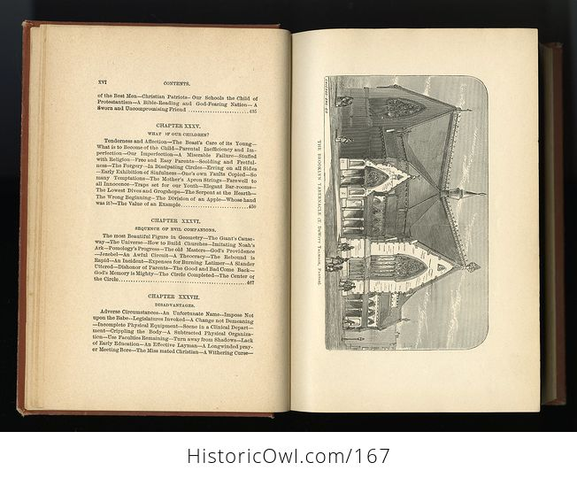 Antique Illustrated Book Social Dynamite or the Wickedness of Modern Society by T Dewitt Talmage C1888 - #PLRqpOru89A-13