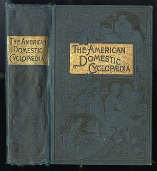 Antique Illustrated Book the American Domestic Cyclopedia by F M Lupton #n4zq332vtx0