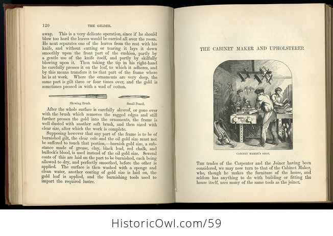 Antique Illustrated Book the Boys Book of Trades by Routledge C 1880 - #2igGvNVWxoE-7