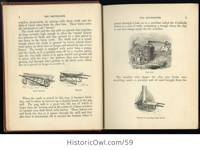 Antique Illustrated Book the Boys Book of Trades by Routledge C 1880 - #2igGvNVWxoE-3