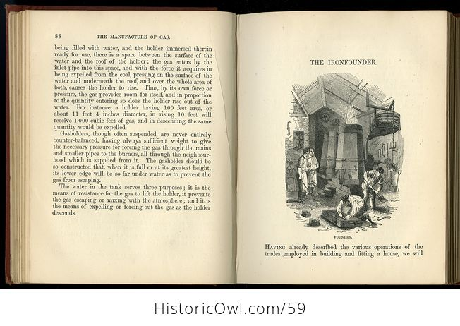 Antique Illustrated Book the Boys Book of Trades by Routledge C 1880 - #2igGvNVWxoE-5
