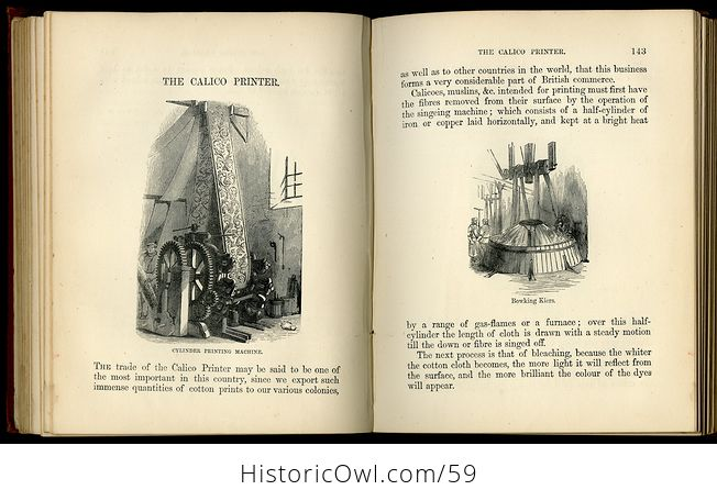 Antique Illustrated Book the Boys Book of Trades by Routledge C 1880 - #2igGvNVWxoE-9