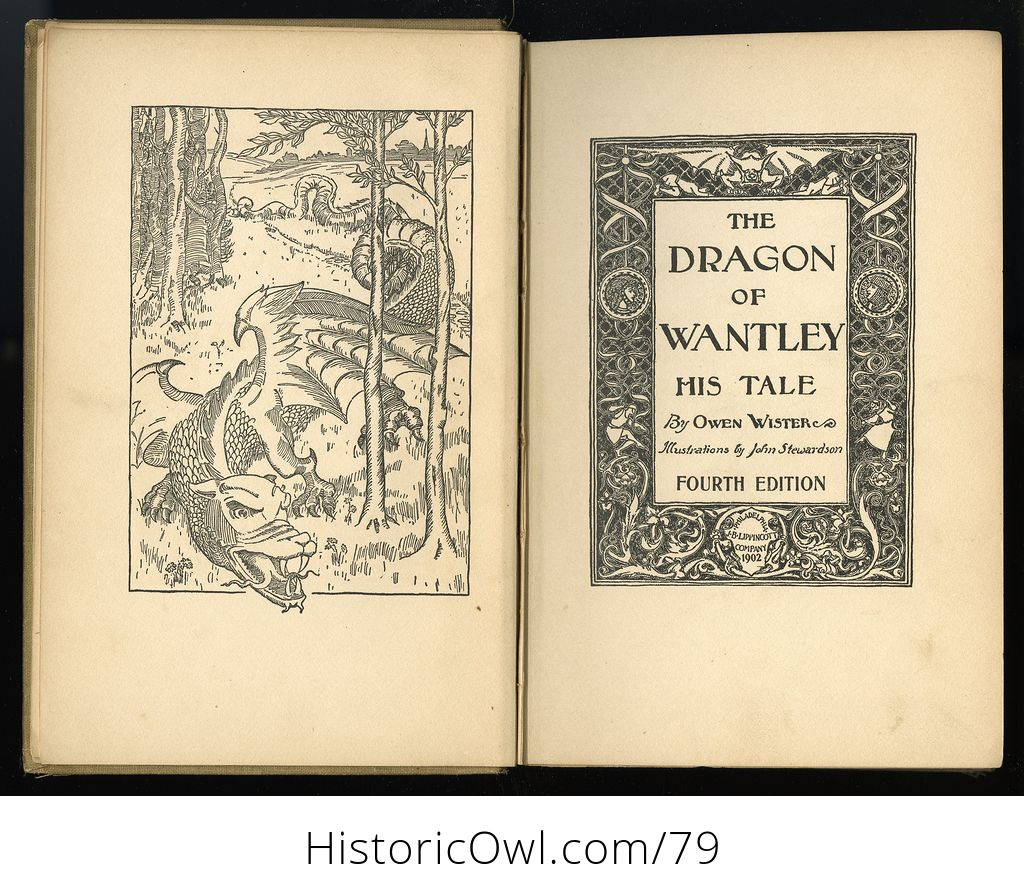 The Dragon of Wantley His Tale