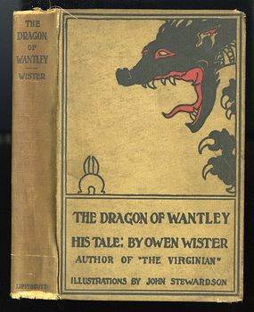 Antique Illustrated Book the Dragon of Wantley His Tale by Owen Wister and Illustrated by John Stewardson Fourth Edition C1892 #0UEmrYJl4hM