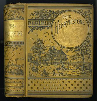 Antique Illustrated Book the Hearthstone or Life at Home a Household Manual by Laura C Holloway C1884 #3jeQbPCQU6Y