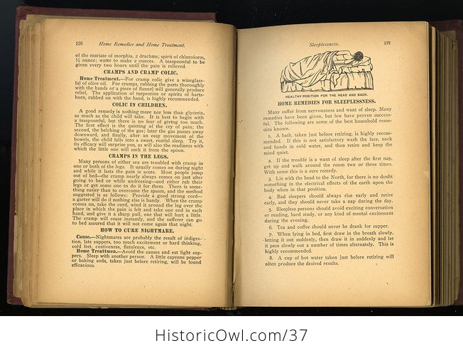 Antique Illustrated Book the Household Guide or Domestic Cyclopedia C1900 - #7vzXZ6NnELs-8