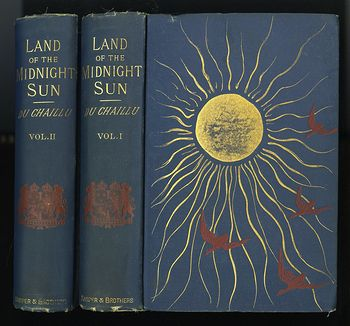 Antique Illustrated Book the Land of the Midnight Sun Summer and Winter Journeys Through Sweden Norway Lapland and Northern Finland by Paul B Du Chaillu C1882 #z3Lmjy0jhXE
