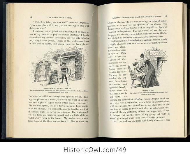 Antique Illustrated Book the Story of My Life or the Sunshine and Shadow of Seventy Years by Mary Livermore C1897 - #QwgI6jbAPg4-4