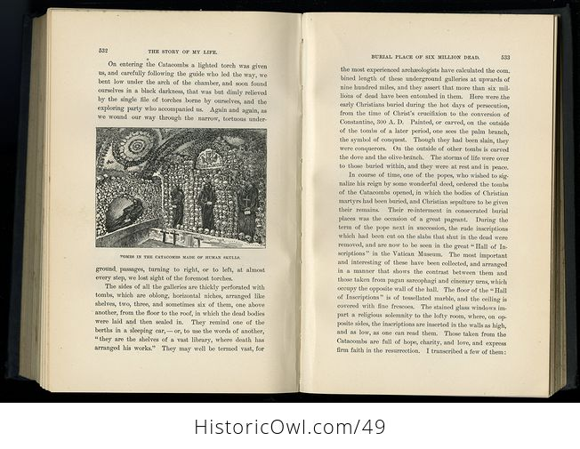 Antique Illustrated Book the Story of My Life or the Sunshine and Shadow of Seventy Years by Mary Livermore C1897 - #QwgI6jbAPg4-3