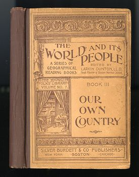Antique Illustrated Book the World and Its People Book Iii Our Own Country by Minna C Smith C1895 #lGQHmwAbDpo
