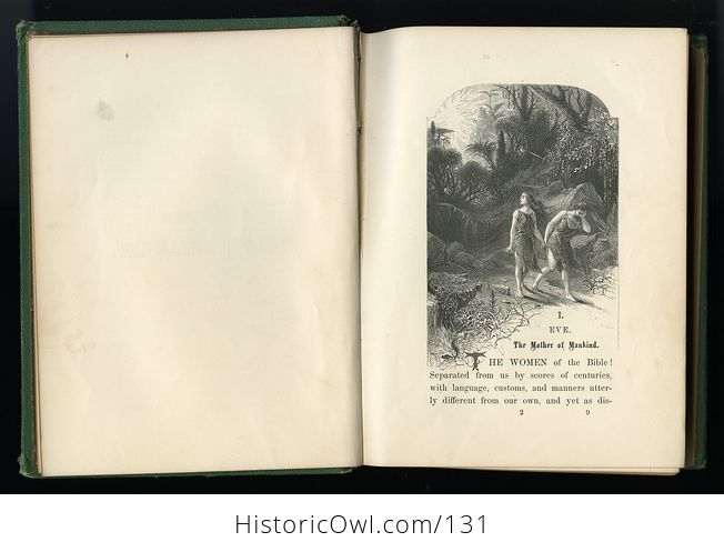 Antique Illustrated Book Women of the Bible by Mrs S T Martyn C1868 - #oVsRFBAWxuY-5