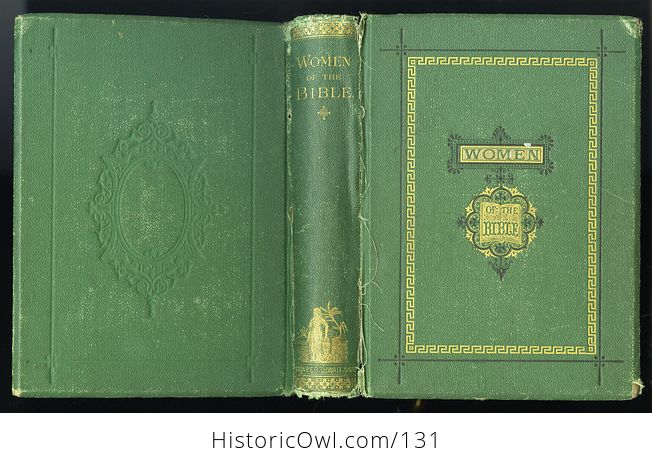 Antique Illustrated Book Women of the Bible by Mrs S T Martyn C1868 - #oVsRFBAWxuY-8