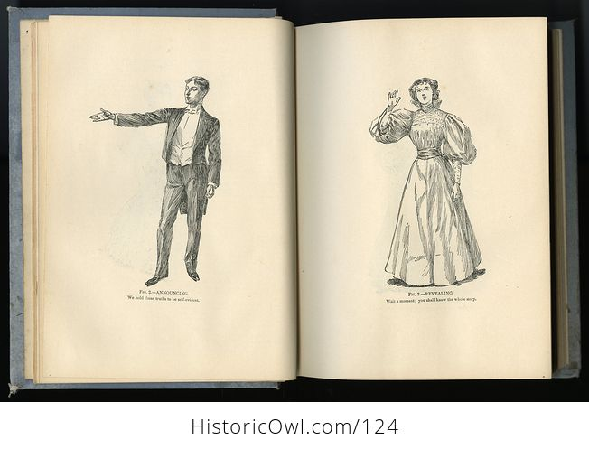 Antique Illustrated Book Young Peoples Speaker by Henry Davenport Northrop C1895 - #EQIpN5wFfto-3