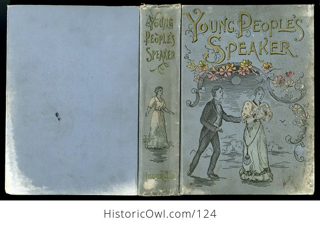 Antique Illustrated Book Young Peoples Speaker by Henry Davenport Northrop C1895 - #EQIpN5wFfto-4