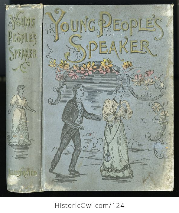 Antique Illustrated Book Young Peoples Speaker by Henry Davenport Northrop C1895 - #EQIpN5wFfto-1