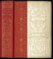 Antique Illustrated Books the Last Days of Pompeii by Edward Bulwer Lytton C 1891 2 Volumes #7fX9SmZvWYA