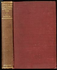 Antique Misprint Book the Variation of Animals and Plants Under Domestication by Charles Darwin C1898 #fj3f0Yji7oc