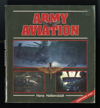 Army Aviation Book by Hans Halberstadt C1990 #Fnlx1CYc3BU
