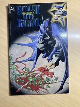 Batman Collected Legends of the Dark Knight Book Dc Comics C1994 #smjZkEhC7C4