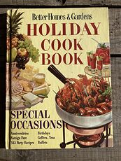 Better Homes and Gardens Holiday Cook Book C1967 #2f3kZ0E3mNI